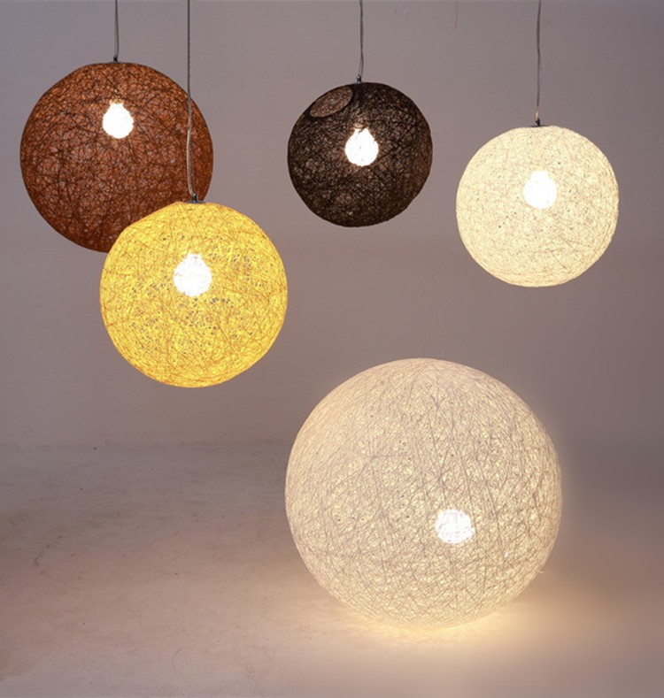 Twine Balls Pendant Lights Fixture