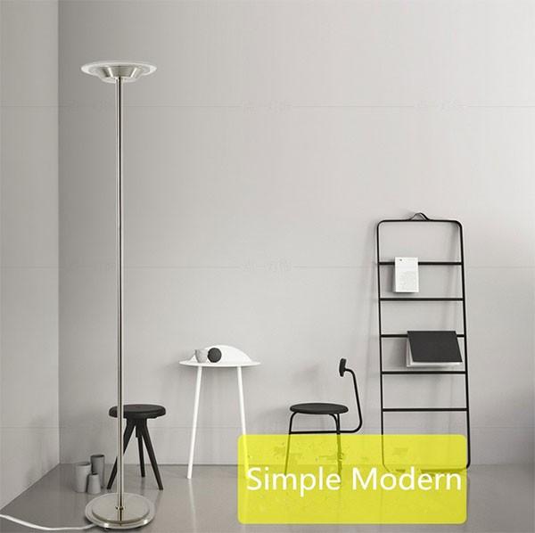 Modern remote control funky bankers floor lamp