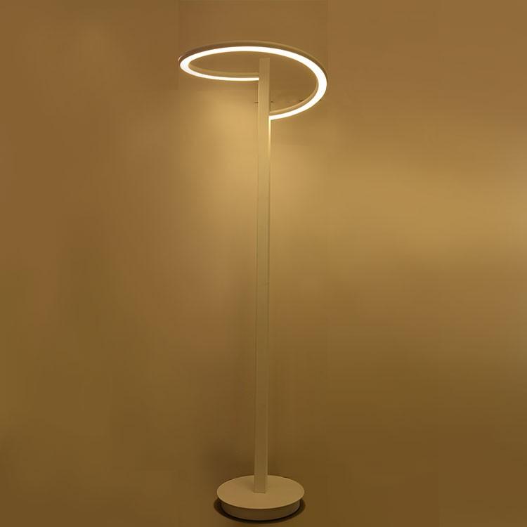 Unique design led floor standing lava lamp