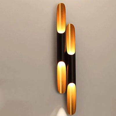 COLTRANE Tubular LED wall sconce lamp
