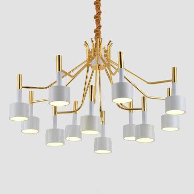 Modern Ella round chandelier Suspension light