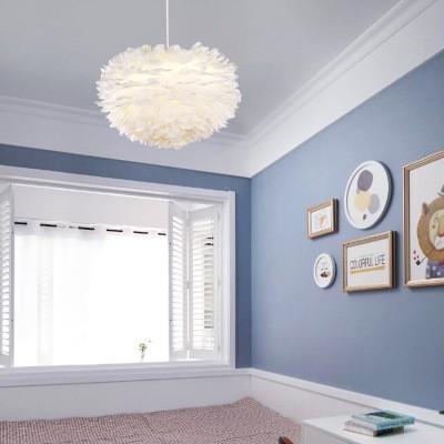 Modern Feather chandelier pendant light